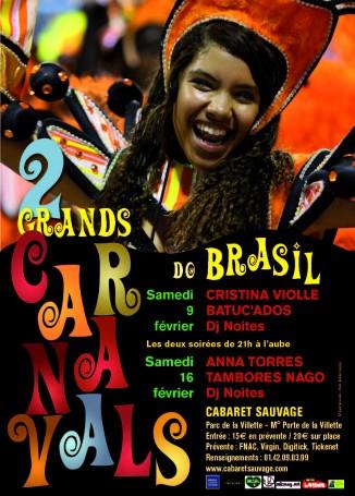 Carnaval au cabaret sauvage