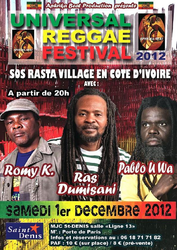 Festival Reggae dec2012