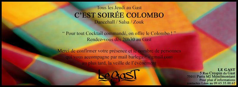 LE GAST - COLOMBO Plat