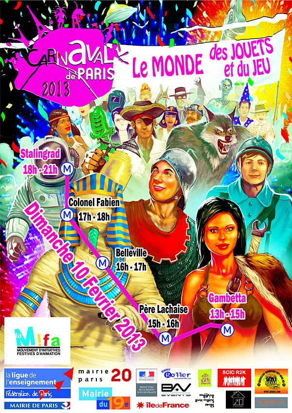 Visuel Carnaval de Paris