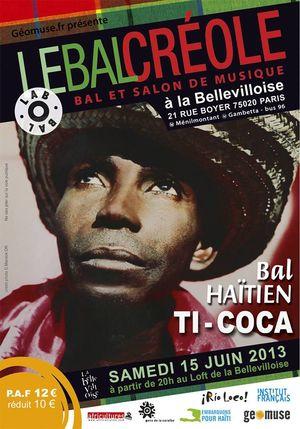 Bal creole 15 juin