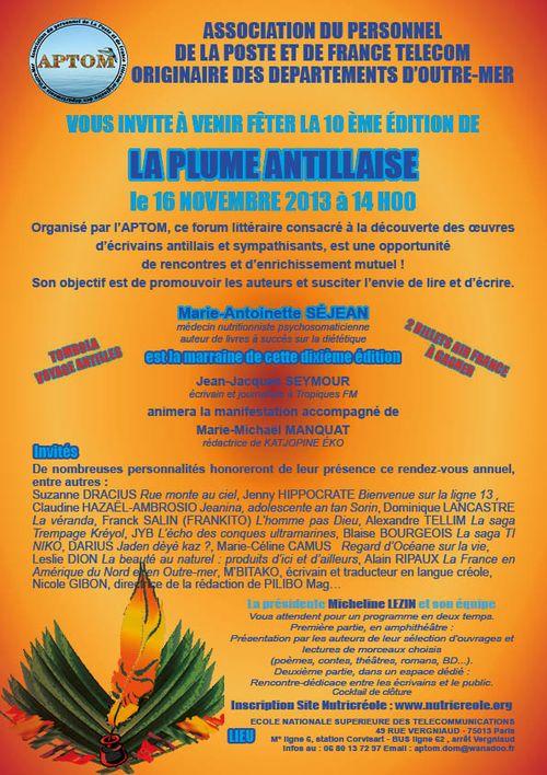 La plume antillaise_AFF2013