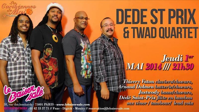 Dédé St Prix et Twad Quartet