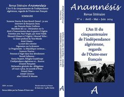 Revue Anamnésis