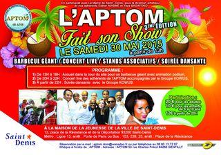Flyers_L'APTOM FAIT SON SHOW_3ième EDITION