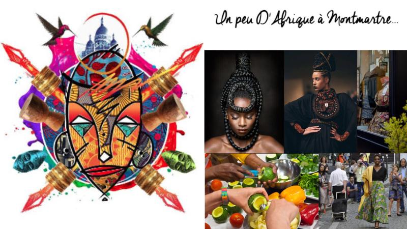 Vignette Un Peu D'Afrique à Montmartre