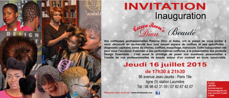 DION_CARTON INVITATION INAUGURATION