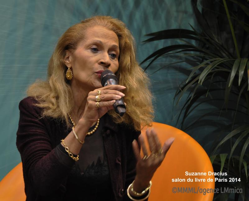 Suzanne Dracius SalonDuLivre 2014